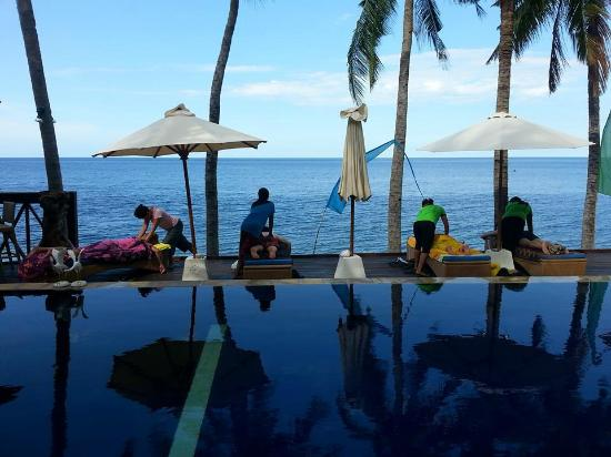 Villa Alba Dive Resort: 無敵海景