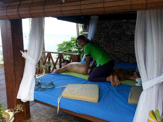 Villa Alba Dive Resort: Outdoor SPA