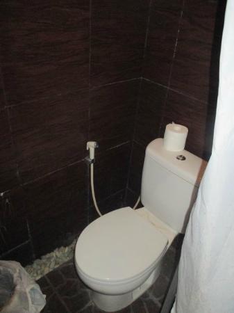 Bali Golden Elephant: супер маленький туалет