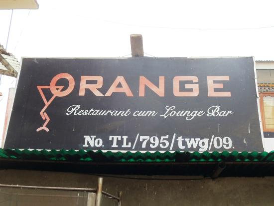 Orange Restaurant & Lounge Bar : SIGNBOARD