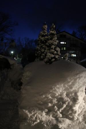 Hakuba Canadian Lodge: Incredible Snowfall
