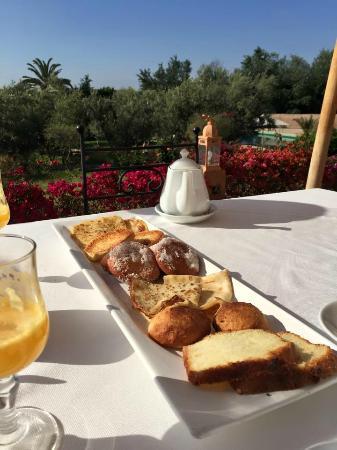 Kasbah Agafay : Wonderful Breakfast