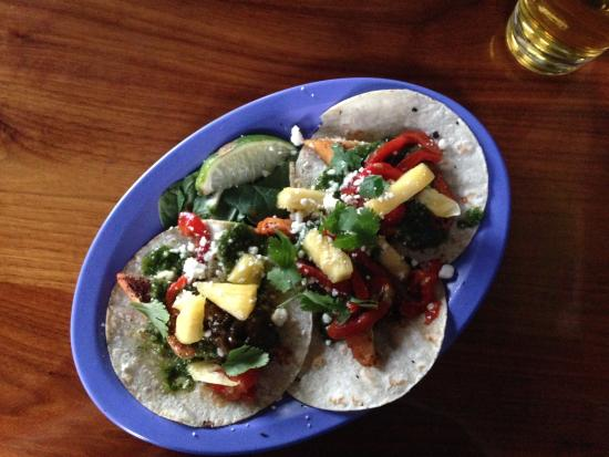 Luke's Inside Out: Achiote Fish Tacos Apr 19, 2015