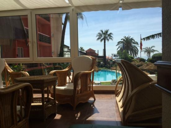 Hotel Tropicana: Lounge area