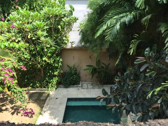 Jimbaran Bay Beach Residence: The pool view from main bedroom