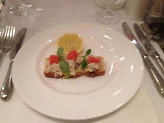 Oscar Restaurant & Bar: starter