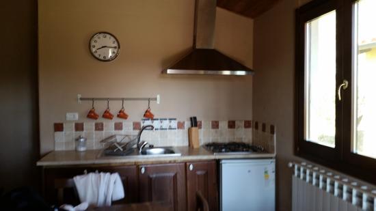 Relais Ciavatta: cucina dello chalet