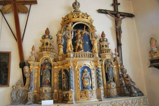 Musee du Vieux St Etienne : objet religieux