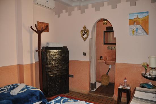 Riad des Etoiles : salle de bain