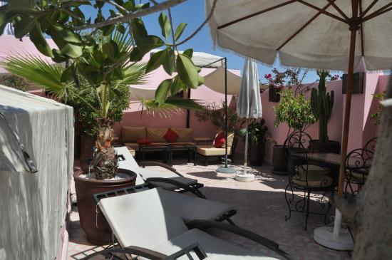 Riad des Etoiles : terrasse