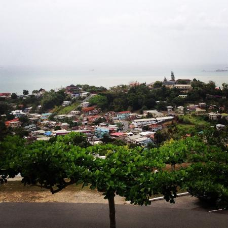 San Fernando, Trinidad: The view