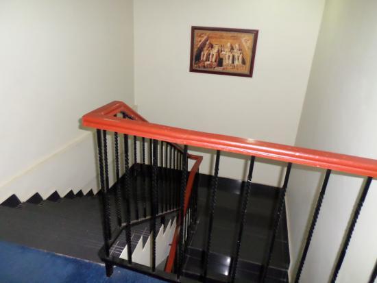 Nairobi Upper Hill Hotel: stair case