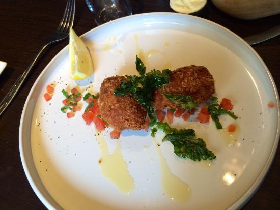 Lobster croquettes were a special when we visited. A+