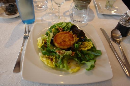 Auberge Cigaloise : Salade cévenole