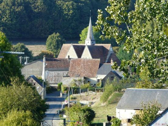 Saint-Georges-de-la-Couee, France: Une image d'un beau village