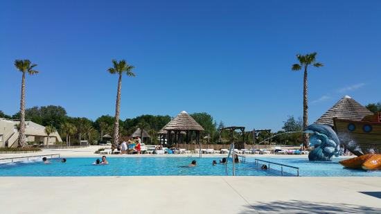 La piscine enfin une mini partie picture of camping for Camping blonville sur mer avec piscine