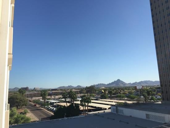 Hilton Garden Inn Phoenix Midtown: Замечательный вид из окна