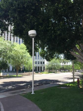 Hilton Garden Inn Phoenix Midtown: У центрального входа