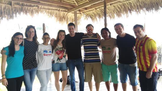 Tariri Amazon Lodge: Con Germano y Fabiola