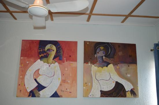 Bogobiri House Lagos: Artwork