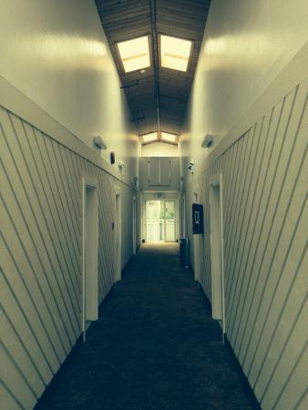 Travelodge Mill Valley/Sausalito: Hallway to rooms 170 to 179