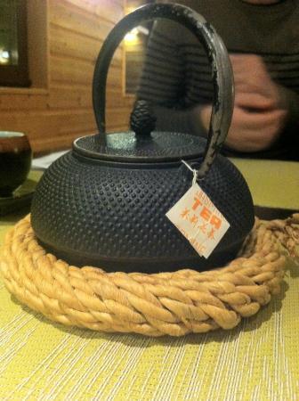 Sushikai: thé jasmin