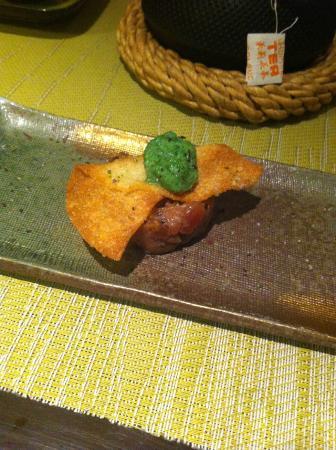 Sushikai: tartare de thon