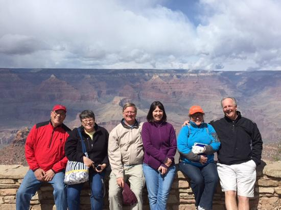 Silver Spur Tours - Day Tours : Our group having a great day with Dwayne