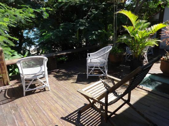 Beira do Mar : Balcon terraza