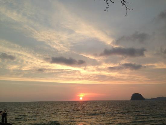 Ko Yao Seafood : Obligatory sunset!