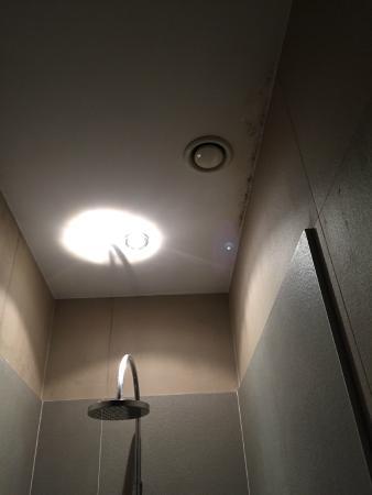 Hotel Les Nuits: Schimmel Decke