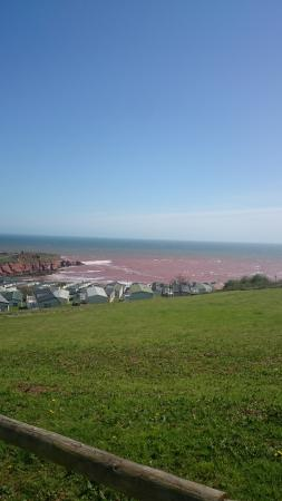 Devon Cliffs Holiday Park - Haven: view from the park