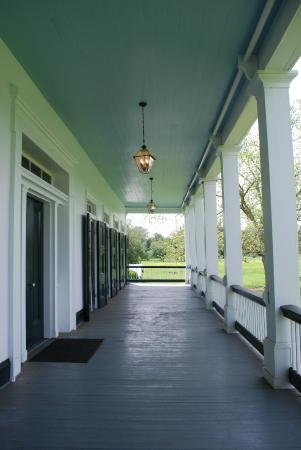 St. Joseph Plantation: Front porch