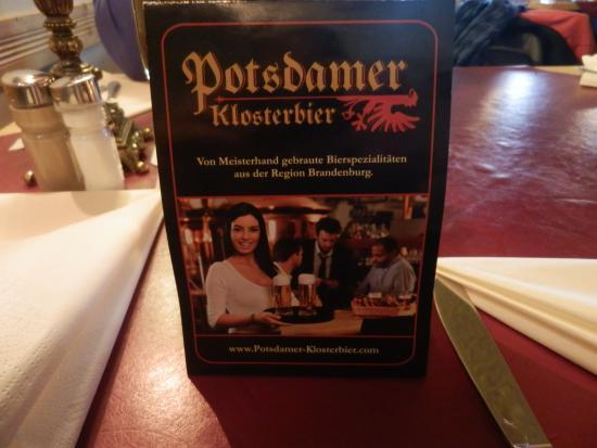 Der Klosterkeller: διαφημιση μπυρας?