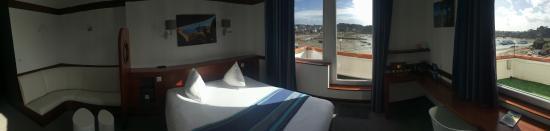 Hotel des Rochers : Suite vue sur mer