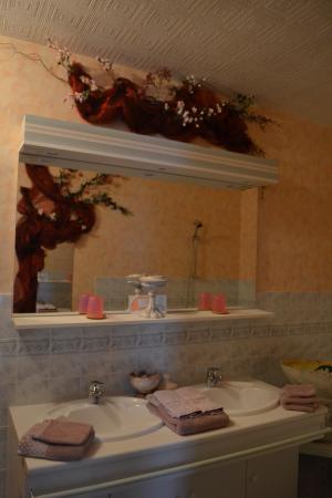 Cartigny l'Epinay, Francia: Sink/Vanity Area