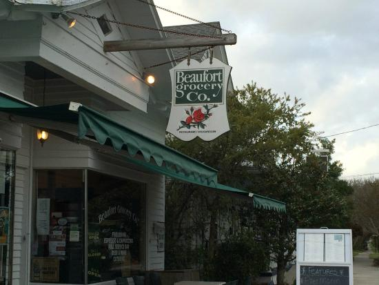Beaufort Grocery CO: Outside ...