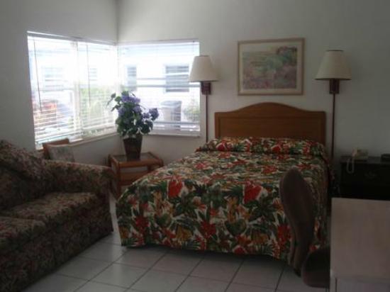 Richard's Motel Courtyard: courtyard 409 efficiency 1 bed