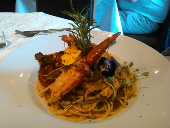 Sol Rio: More Lobster and clam pasta