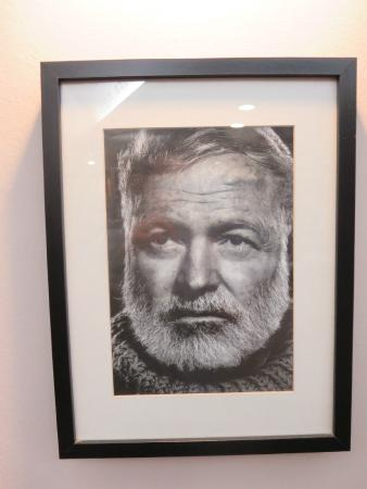 Salty Dog Cafe: Hemingway, Salty Dog Café's patron saint.