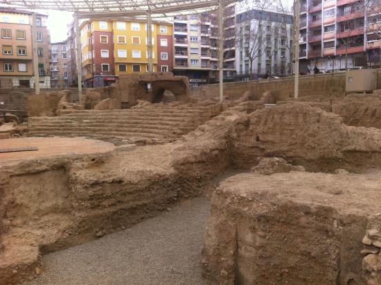 Teatro - Picture of Museo del Teatro Romano de Caesaraugusta, Zaragoza - Trip...