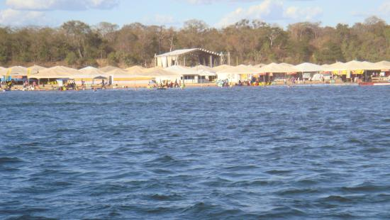 Gurupi, TO: Praia do Peixe