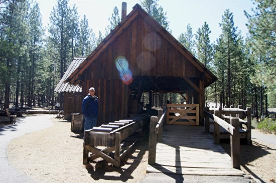 The Saw Mill On The 1904 Miller Family Ranch And Sawmill Picture