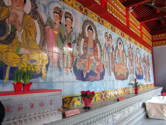 International Buddhist Society (Buddhist Temple): The Seven Buddha Mural