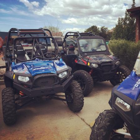 Red Rock ATV Rentals: Polaris RZR S