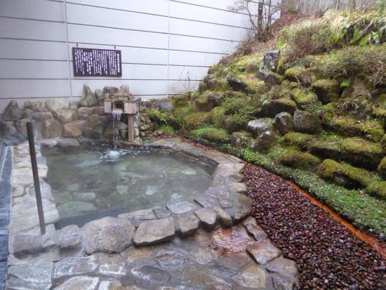 Nukumorino-yado Komanoyu : Women's outdoor onsen bath
