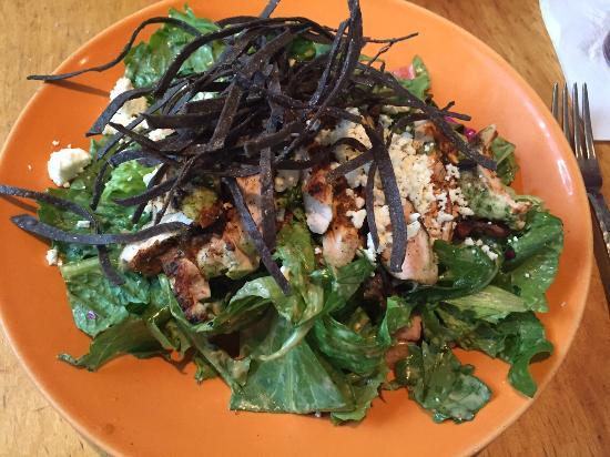 Z'Tejas Southwestern Grill : Achiote Chicken Chopped Salad