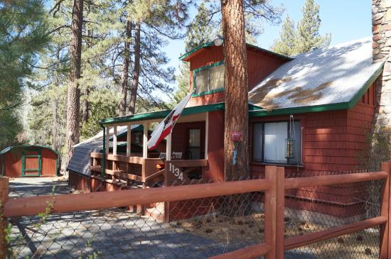 A Bird 39 S Eye View Picture Of Big Bear Cool Cabins Big