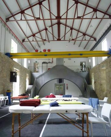 A Fábrica da Luz: Sala Central
