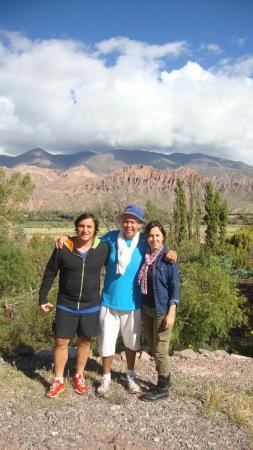 Cerro Chico: Con nuestro amigo, Nour